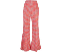 printed palazzo trousers
