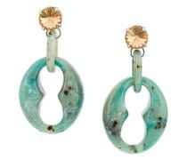 Ohrringe aus Plexiglas