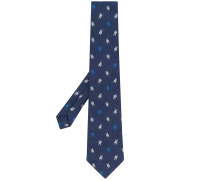Krawatte mit Käfermuster