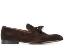 slip-on tassel detail loafers
