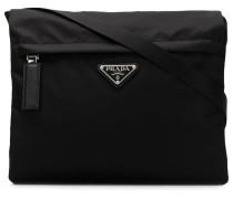 Umhängetasche mit Reißverschlusstasche