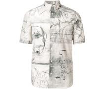 'John Deakin' Hemd mit Print