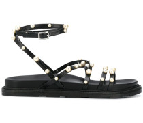 Sandalen mit Perlen, 30mm