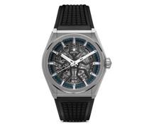 'Defy Classic Skeleton' Armbanduhr, 41mm