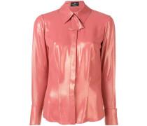 Glänzende Bluse