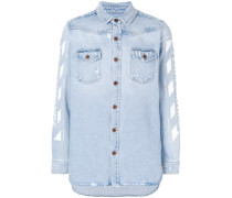 Temperature denim shirt