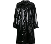 Abourne high shine vinyl coat