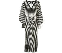 Kleid mit gestreiften �rmeln