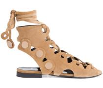 'Penny' Sandalen mit Schnürung