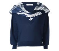 Sweatshirt mit Schal