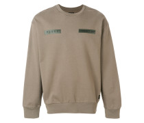Sweatshirt mit Logo-Patch