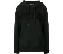fringed hoodie