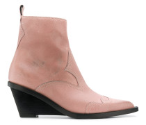 ankle height wedge boot