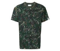 dry leaf print T-shirt