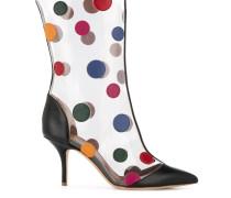 Stiletto-Stiefel mit Punkten