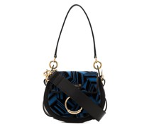 leather Tess Small Embroidered shoulder bag