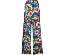 Hose mit Blumenmuster