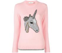 Pullover mit Einhorn-Print