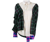 Asymmetrisches Oversized-Hemd