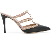 pointed Rockstud mules