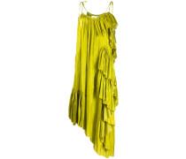 Trägerkleid mit Rüschen