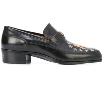 Leather loafer with NY Yankees™ patch