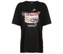 loose fit printed T-shirt
