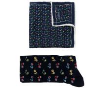 Bedruckte Socken und Schal