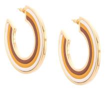 Ohrringe mit Streifen
