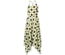 diamond print napkin dress