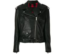 Lukin leather biker jacket