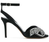 Sandalen mit verzierter Schleife