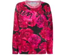 Pullover mit Rosen