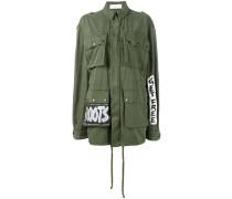 'Crown Tag' Military-Jacke