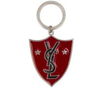 'YSL Shield' Schlüsselanhänger