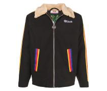 Jacke mit Regenbogenmuster