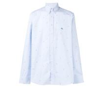 paisley detail shirt