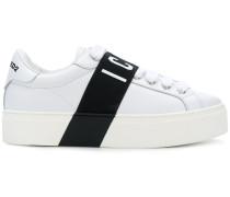 """Sneakers mit """"Icon""""-Schriftzug"""