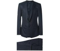 Zweiteiliger Anzug mit geometrischem Muster