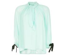 draped front blouse