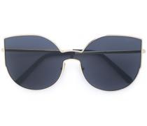 Sonnenbrille im Oversized-Look