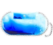 Clutch mit Kristallen