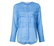 flapped front round neck shirt