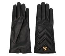 Handschuhe mit Steppmuster