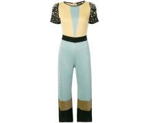 Jumpsuit in Colour-Block-Optik