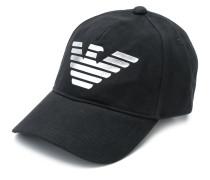 logo print baseball cap