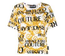T-Shirt mit Barock-Print