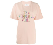 'It's a wonderful World' Oversized-T-Shirt