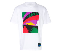 T-Shirt mit Auto-Logo