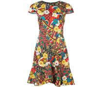 'Kirby' Kleid mit Blumen-Print